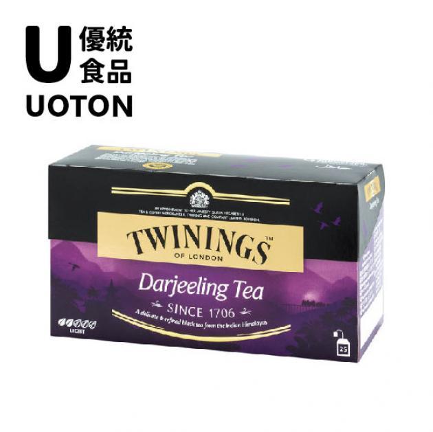 【Twinings】經典紅茶系列-歐式大吉嶺茶2g 1