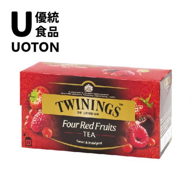 【Twinings】調味紅茶系列-四紅果茶2g 1