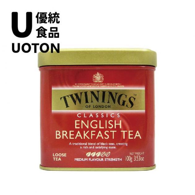 【Twinings】經典紅茶系列-英倫早餐茶100g 1
