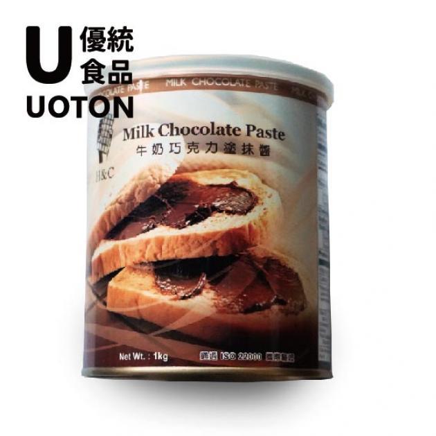 【正】牛奶巧克力 1kg/罐 2