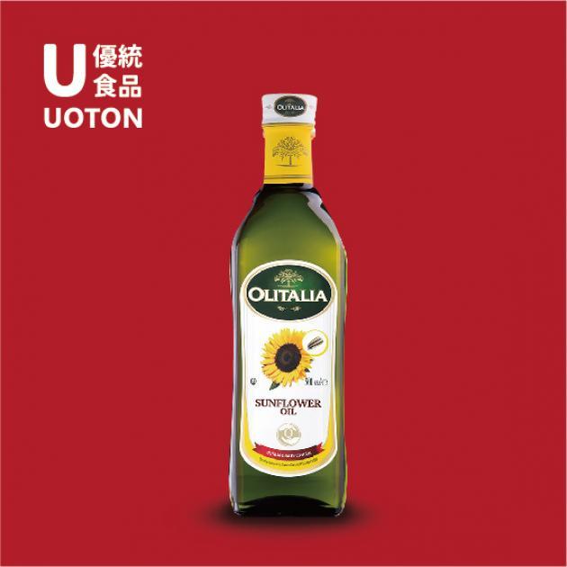 【2019年菜系列】奧利塔頂級葵花油1公升/瓶 1